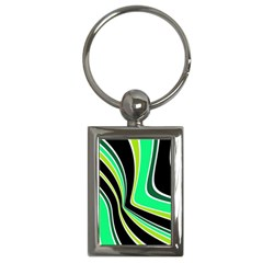 Colors of 70 s Key Chains (Rectangle)