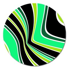 Colors of 70 s Magnet 5  (Round)