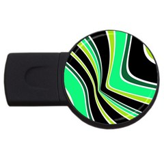 Colors of 70 s USB Flash Drive Round (1 GB)