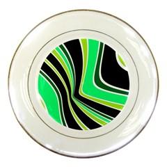Colors of 70 s Porcelain Plates