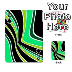 Colors of 70 s Playing Cards 54 Designs