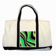Colors of 70 s Two Tone Tote Bag