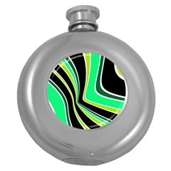 Colors of 70 s Round Hip Flask (5 oz)