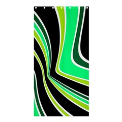 Colors of 70 s Shower Curtain 36  x 72  (Stall)