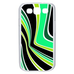 Colors of 70 s Samsung Galaxy S III Case (White)