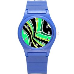 Colors of 70 s Round Plastic Sport Watch (S)