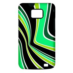Colors of 70 s Samsung Galaxy S II i9100 Hardshell Case (PC+Silicone)