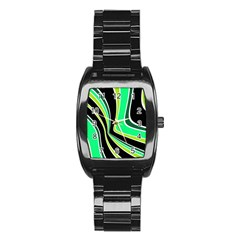 Colors of 70 s Stainless Steel Barrel Watch