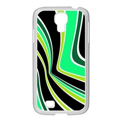 Colors of 70 s Samsung GALAXY S4 I9500/ I9505 Case (White)