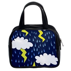 Thunderstorms Classic Handbags (2 Sides)