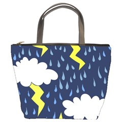 Thunderstorms Bucket Bags