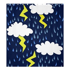 Thunderstorms Shower Curtain 66  X 72  (large)