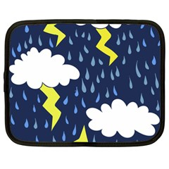 Thunderstorms Netbook Case (XXL)