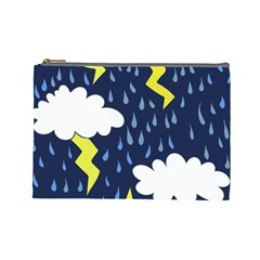 Thunderstorms Cosmetic Bag (large)