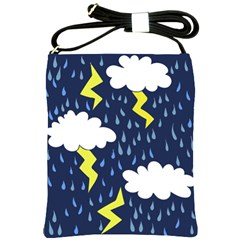Thunderstorms Shoulder Sling Bags