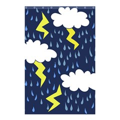 Thunderstorms Shower Curtain 48  x 72  (Small)
