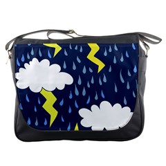 Thunderstorms Messenger Bags
