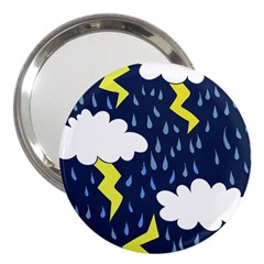 Thunderstorms 3  Handbag Mirrors