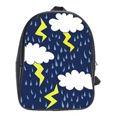 Thunderstorms School Bags (xl)