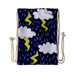 Thunderstorms Drawstring Bag (small)