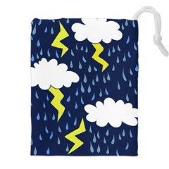 Thunderstorms Drawstring Pouches (xxl)
