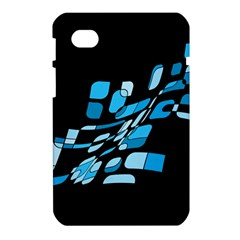 Blue abstraction Samsung Galaxy Tab 7  P1000 Hardshell Case