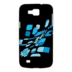 Blue abstraction Samsung Galaxy Premier I9260 Hardshell Case
