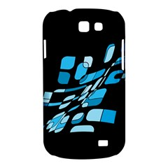 Blue abstraction Samsung Galaxy Express I8730 Hardshell Case