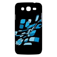 Blue Abstraction Samsung Galaxy Mega 5 8 I9152 Hardshell Case