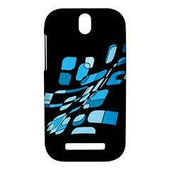 Blue abstraction HTC One SV Hardshell Case
