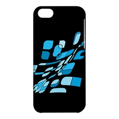 Blue abstraction Apple iPhone 5C Hardshell Case