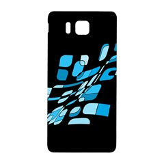Blue abstraction Samsung Galaxy Alpha Hardshell Back Case