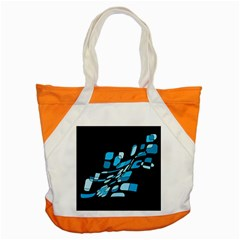 Blue abstraction Accent Tote Bag