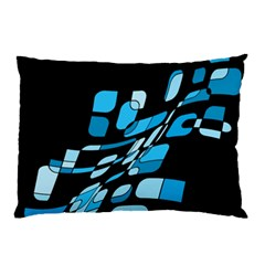 Blue abstraction Pillow Case