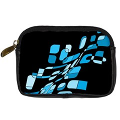 Blue abstraction Digital Camera Cases