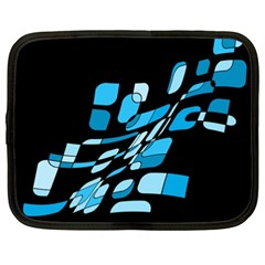 Blue abstraction Netbook Case (XXL)