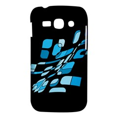 Blue abstraction Samsung Galaxy Ace 3 S7272 Hardshell Case