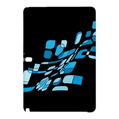 Blue abstraction Samsung Galaxy Tab Pro 10.1 Hardshell Case