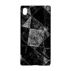 Dark Geometric Grunge Pattern Print Sony Xperia Z3+