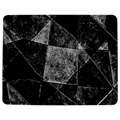 Dark Geometric Grunge Pattern Print Jigsaw Puzzle Photo Stand (Rectangular)