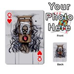 Guillotine Heart Playing Cards 54 Designs  Front - HeartQ