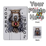 Guillotine Heart Playing Cards 54 Designs  Front - Joker1