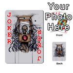 Guillotine Heart Playing Cards 54 Designs  Front - Joker2