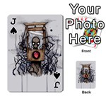 Guillotine Heart Playing Cards 54 Designs  Front - SpadeJ