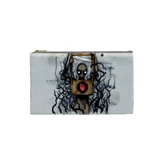 Guillotine Heart Cosmetic Bag (Small)