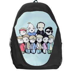 Goonies Vs Monster Squad Backpack Bag