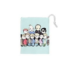 Goonies Vs Monster Squad Drawstring Pouches (XS)