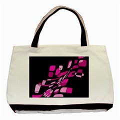 Purple abstraction Basic Tote Bag
