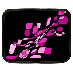 Purple abstraction Netbook Case (XL)