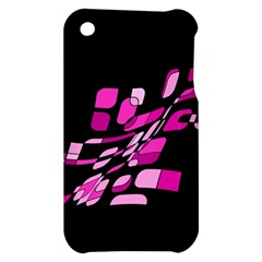 Purple abstraction Apple iPhone 3G/3GS Hardshell Case